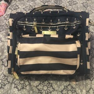 Jujube navy/ cream diaper bag